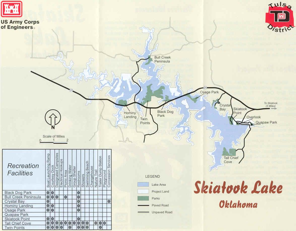 Skiatook Lake Oklahoma